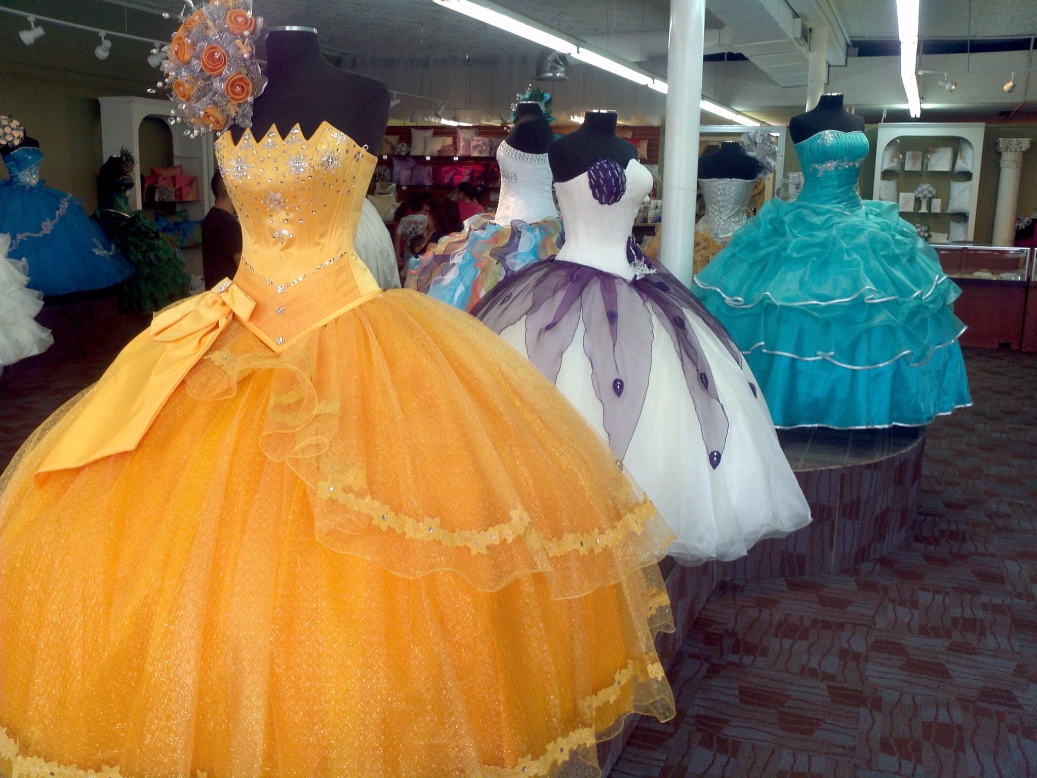 LA Glitter Quinceanera Dresses