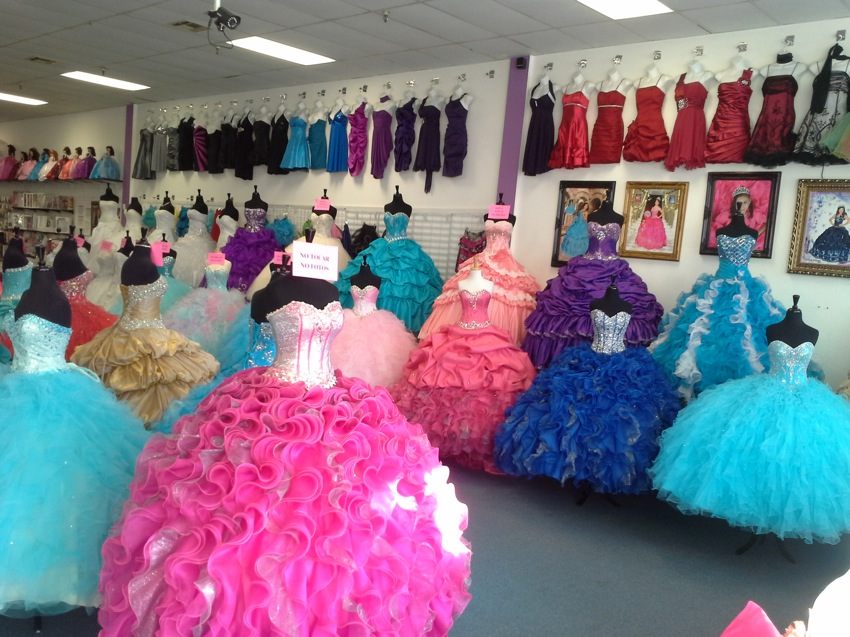 Quinceanera Dress Shops