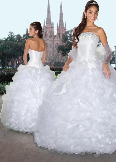 Davinci Q White Dresses