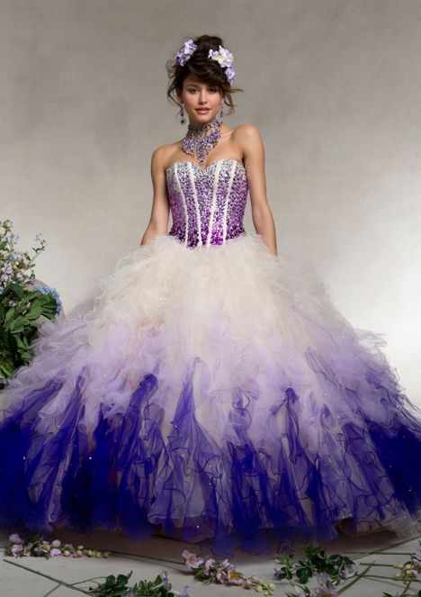 Mori Lee 88078 purple