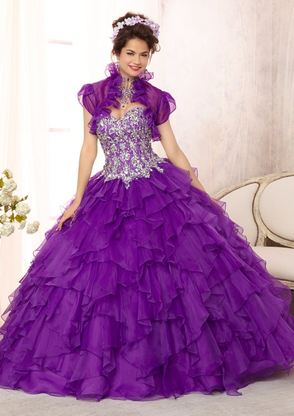 Mori Lee Quinceanera Dresses 88092 purple