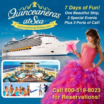 Quinceaneras at Sea