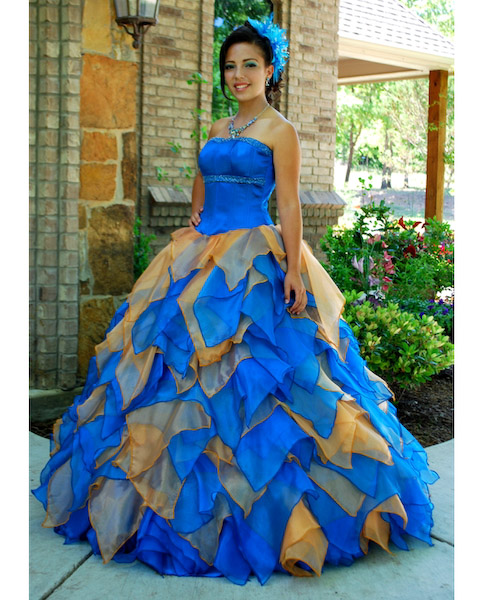 Colorful Quinceanera Dresses in Houston