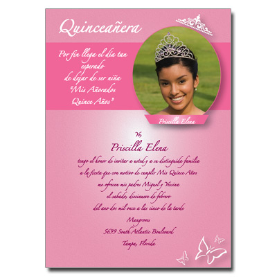 QuinceaneraCards.Net   XV Invitations and Cards   My Chicago ...