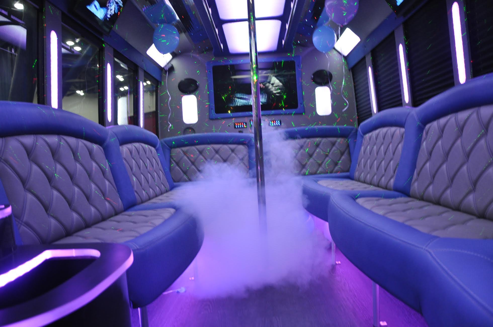 Sams Party Bus Smoke