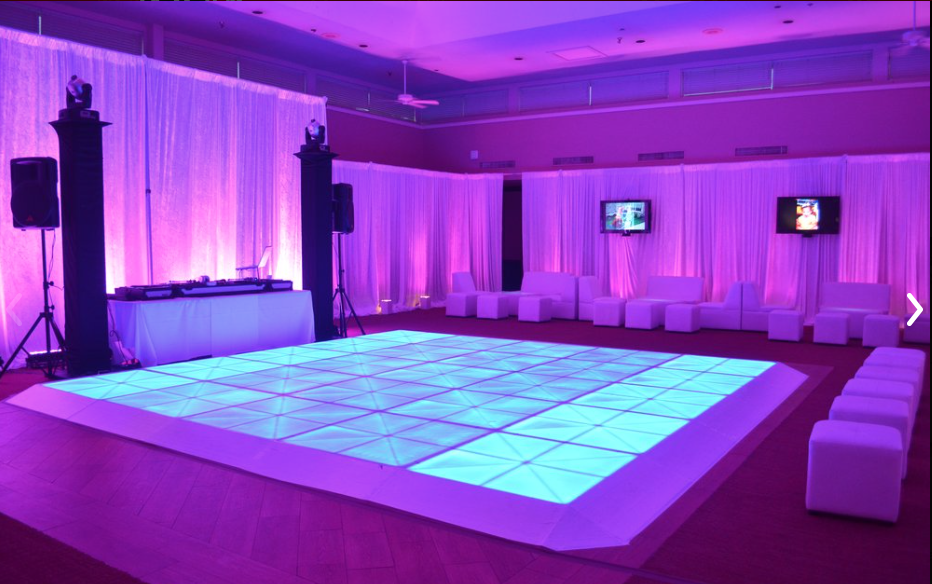 quinceanera entertainment in houston tx | light up dance floors