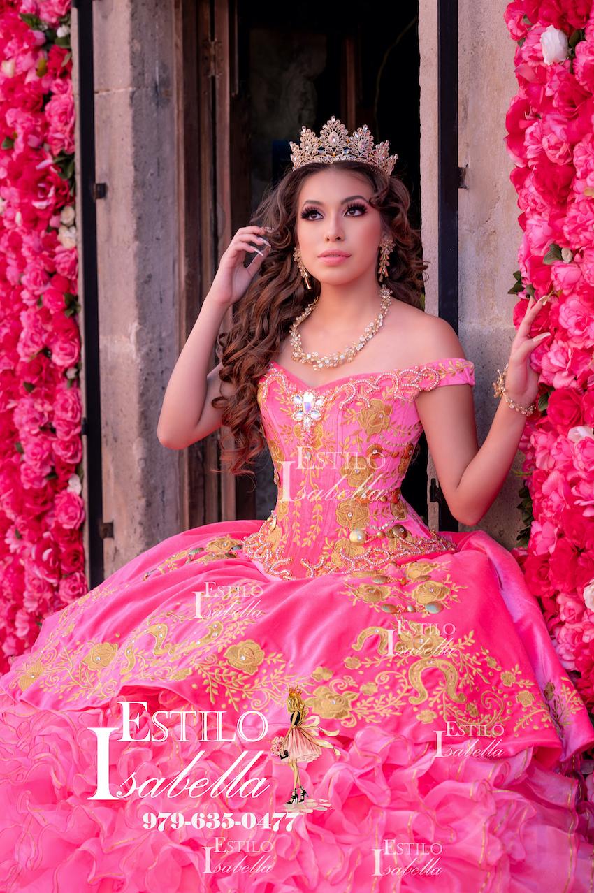 Estilo isabella quinceanera dresses