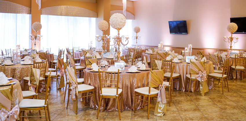 Alegria Gardens at Stacy Reception Hall | Quinceaneras Halls