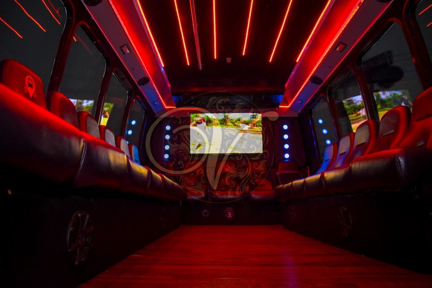 venezzia reception hall party bus