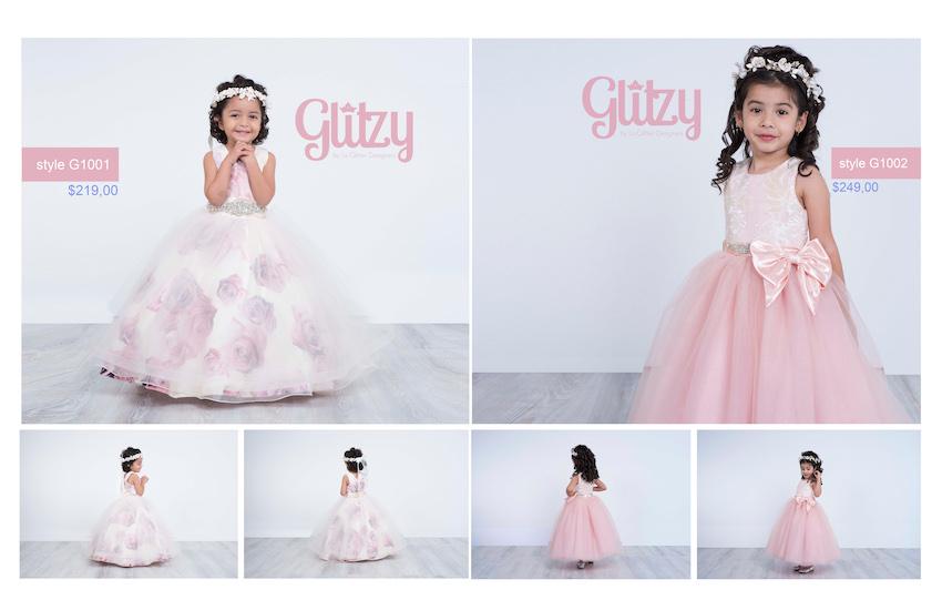 glitzy la glitter dresses