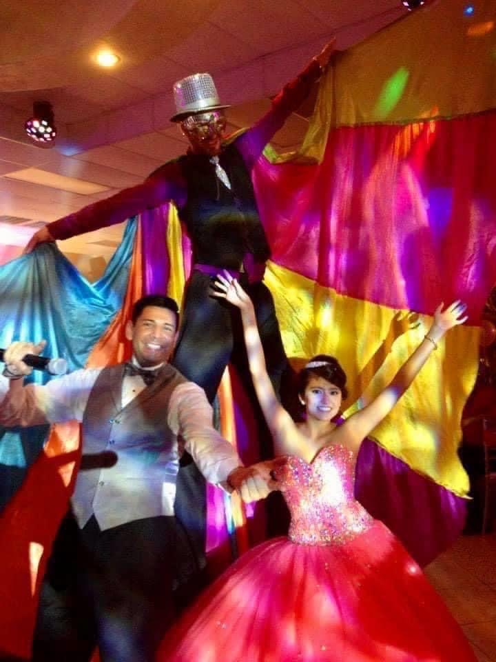 my illusion reception hall zanquero show