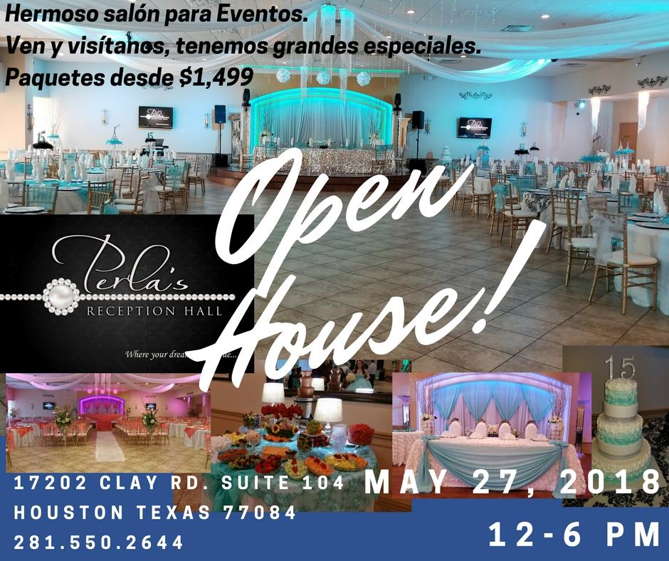perlas open house