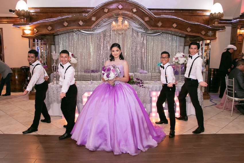 pushia presentations quinceanera choreography
