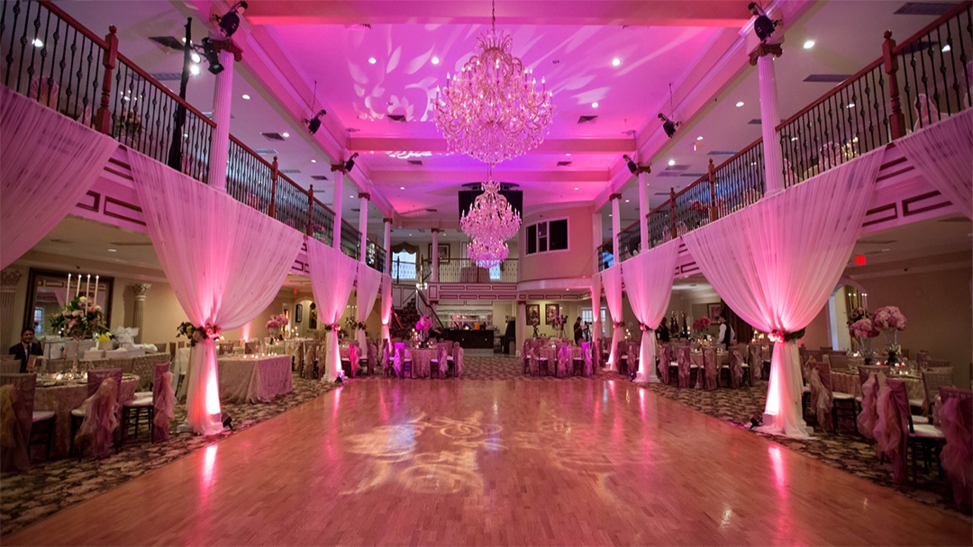 an event hall for a celebration