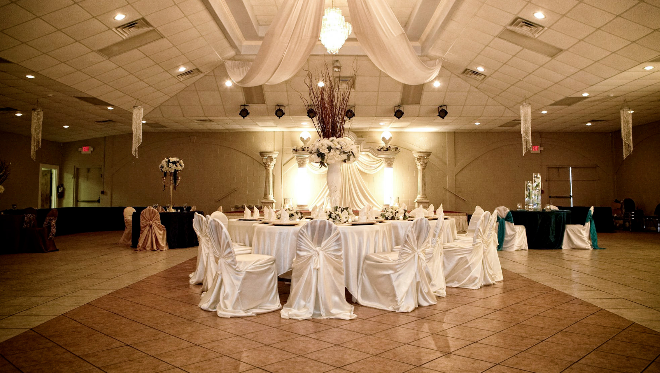 Rose Party Hall Quinceanera And Wedding Receptions