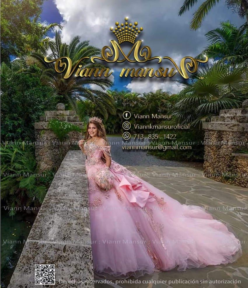 viann mansur quinceanera dresses