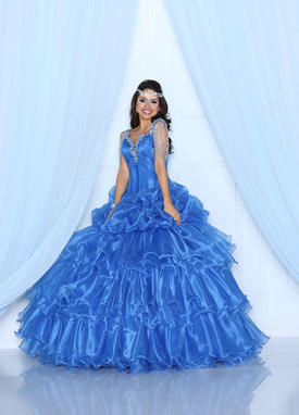 Davinci Quinceanera Dresses 80215 royal