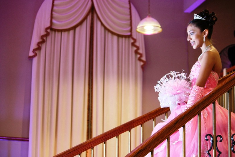 Quinceanera Halls in Houston with balcony