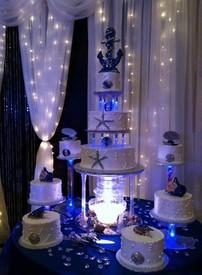banquet hall cake
