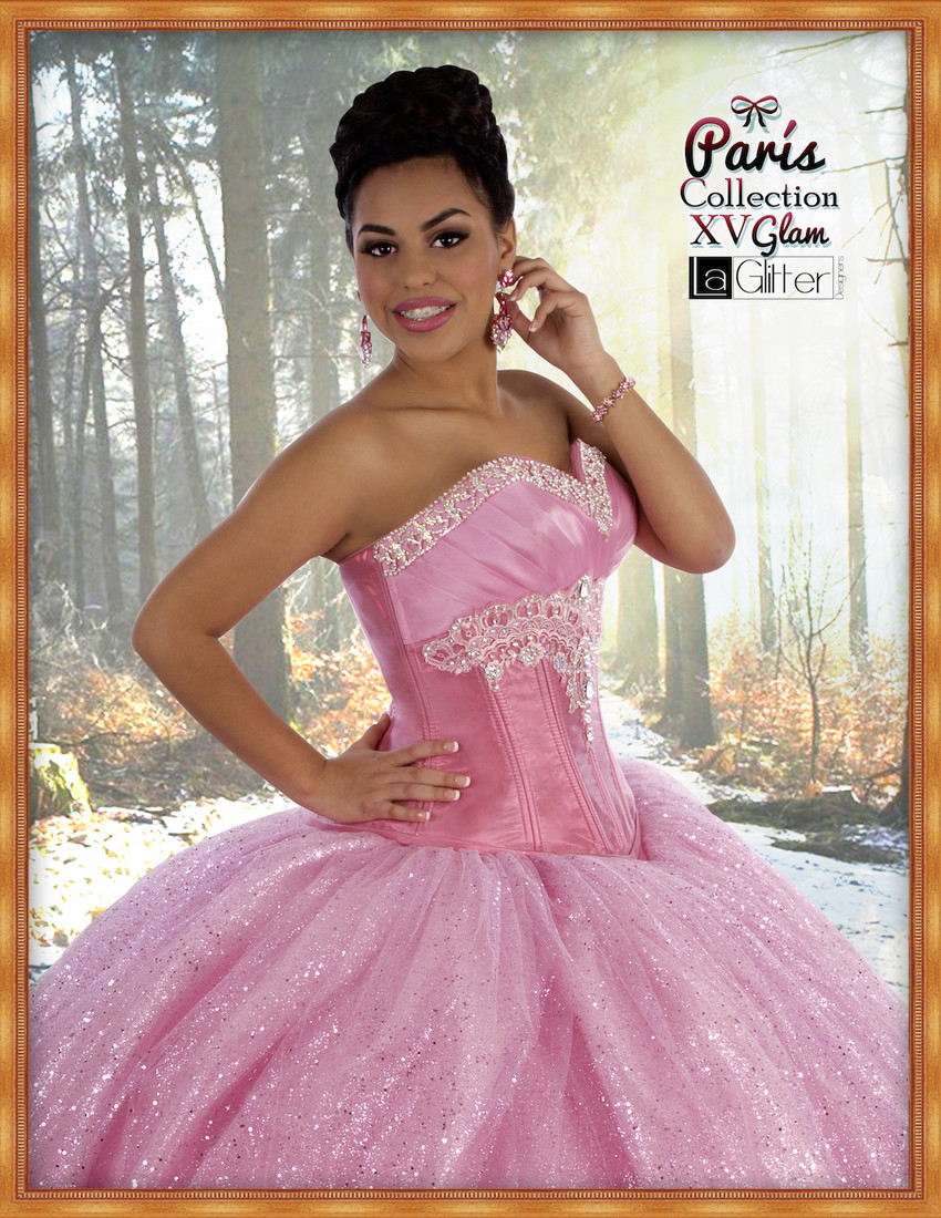 La Glitter Quinceanera Dresses | My Houston Quinceanera