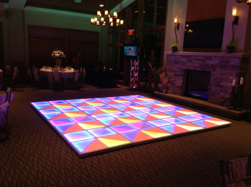 lightup dance floor houston