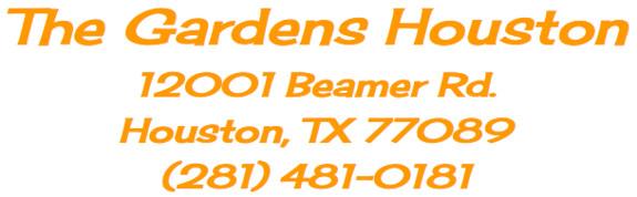 gardens houston tx