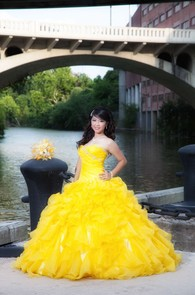 Yellow Quinceanera Dresses