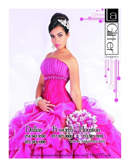 la glitter quinceañera dresses