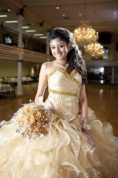 laglitter quince dresses