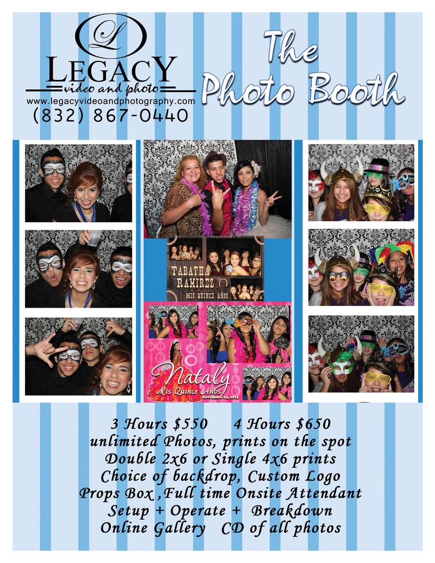 Legacy photo booth houston