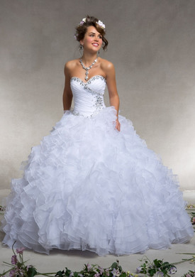 Mori Lee 88074 white