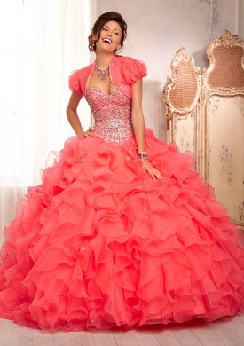 Mori Lee Quinceanera Dresses 88089 pink
