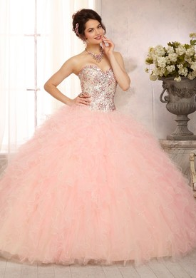 Mori Lee Quinceanera Dresses champagne blush