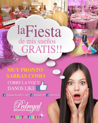 pedregal free quinceanera giveaway