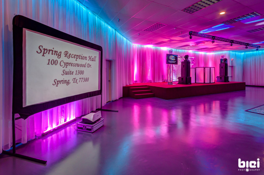 spring reception hall