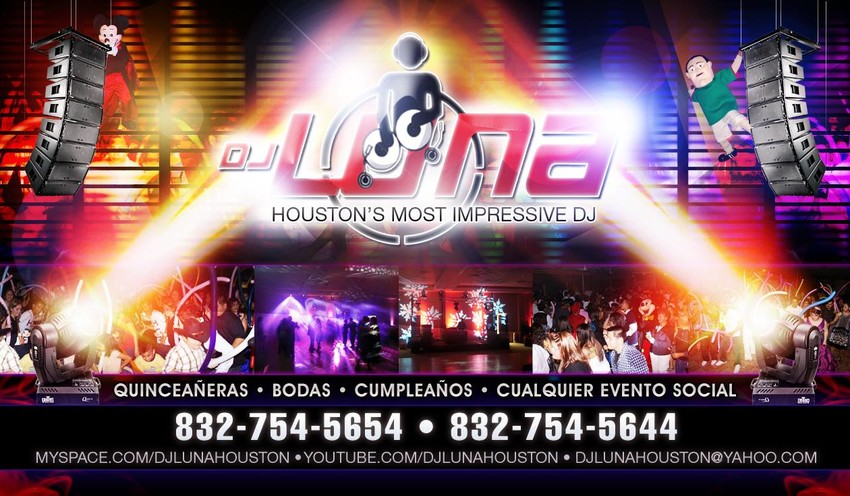 dj luna houston