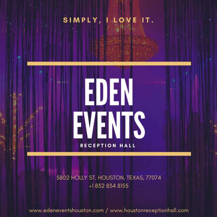 Eden Events Reception Hall Houston
