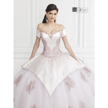 la glitter spring 2020 quinceanera dress collection