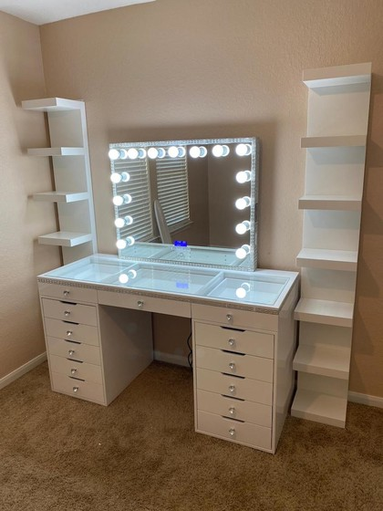 vanity dressers in houston