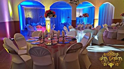 las dalias reception hall