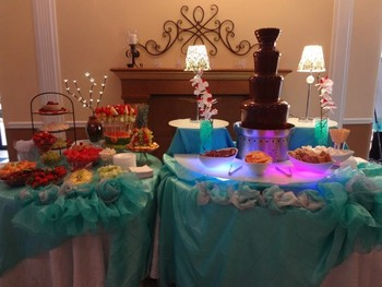 chocolate fountain rentals houston