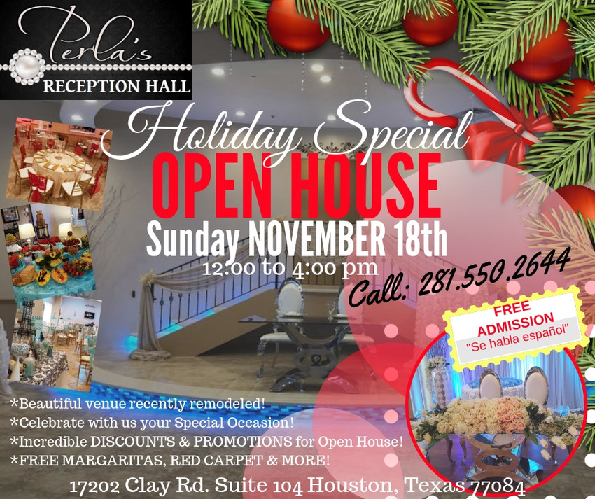 perlas open house november 2018