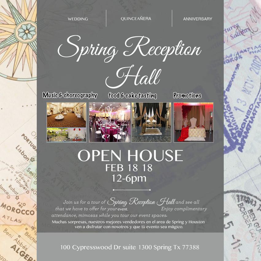spring reception hall